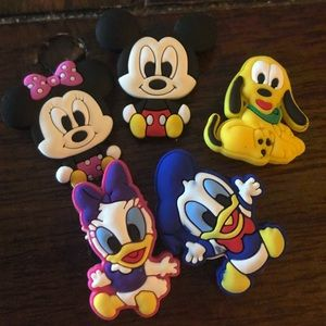 Baby Mickey Mouse and friends crocs jibbets/charms